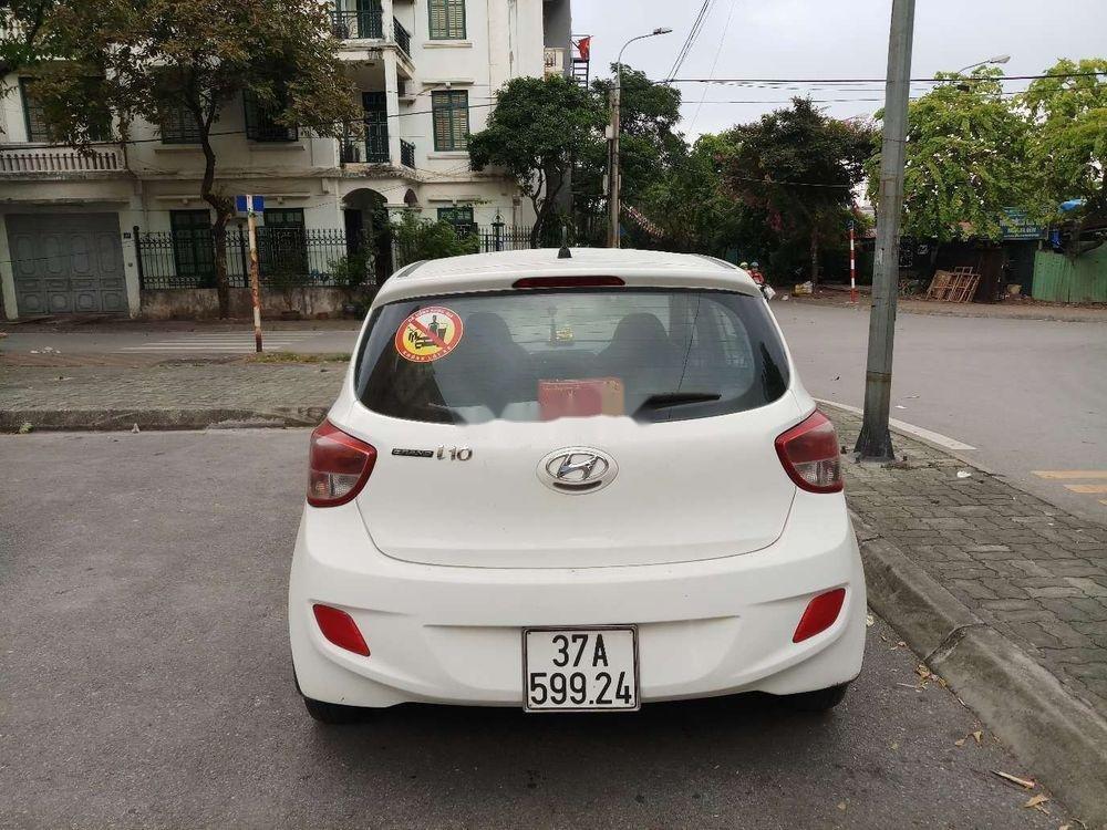 Bán Hyundai Grand i10 đời 2014, màu trắng, nhập khẩu (2)