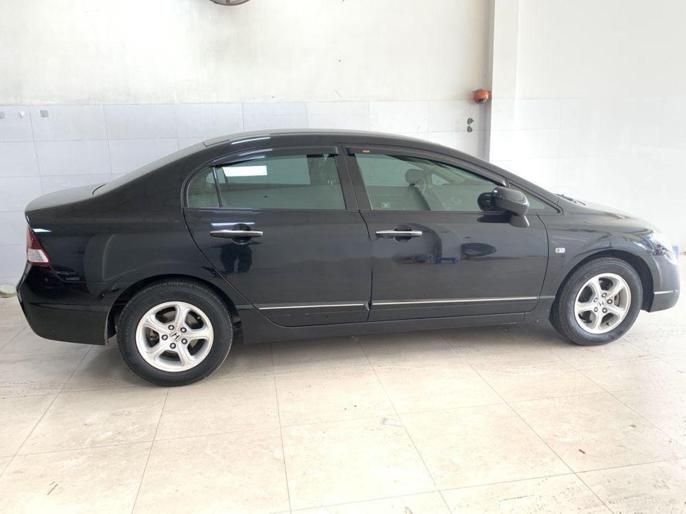 Xe Honda Civic sản xuất 2008, màu đen số tự động (1)