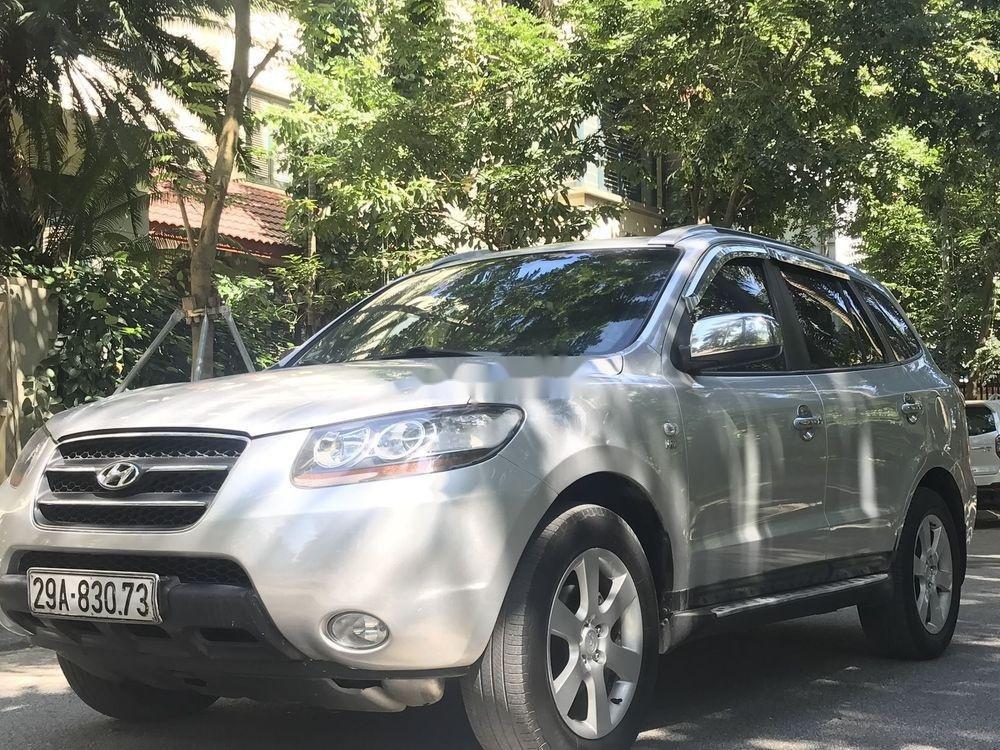 Cần bán Hyundai Santa Fe đời 2007, màu bạc, nhập khẩu chính hãng (5)