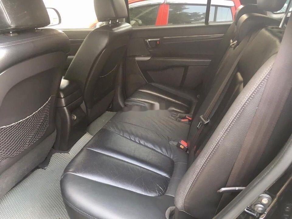 Bán ô tô Hyundai Santa Fe đời 2012, màu đen, nhập khẩu nguyên chiếc chính hãng (5)