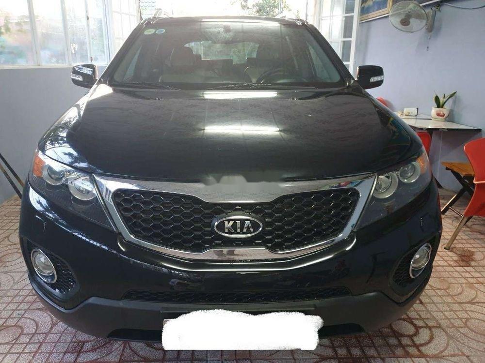 Bán Kia Sorento AT sản xuất 2012, màu đen xe gia đình, giá chỉ 498 triệu (2)