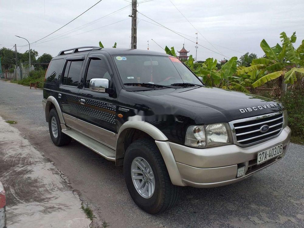 Cần bán lại xe cũ Ford Everest năm 2005, màu đen, 238 triệu (2)