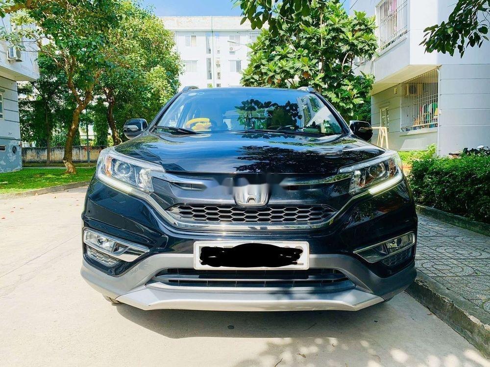 Bán xe cũ Honda CR V 2.4G sản xuất 2016, màu đen, 829tr (1)