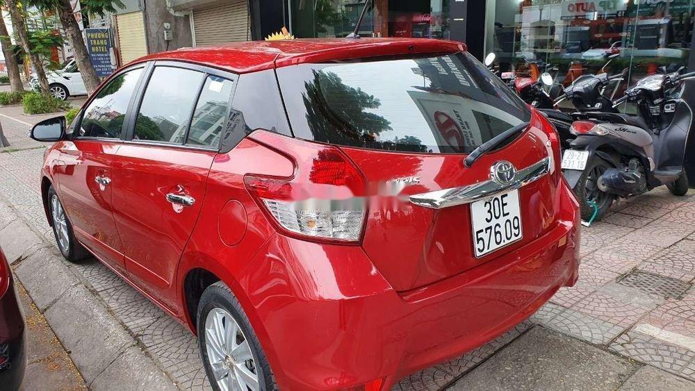 Bán Toyota Yaris G 1.5 sản xuất năm 2016, màu đỏ, xe nhập (5)