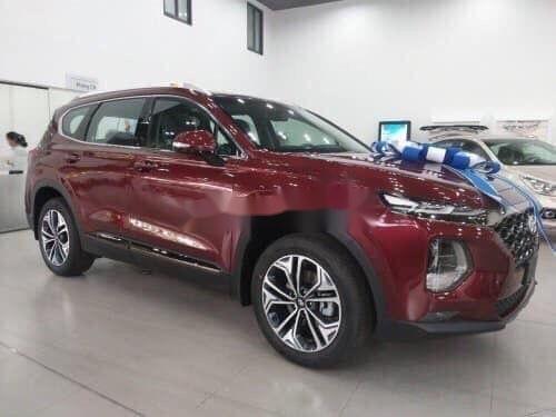 Cần bán Hyundai Santa Fe sản xuất 2019, hỗ trợ tốt (1)