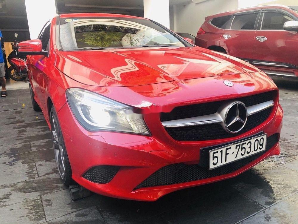Cần bán Mercedes năm sản xuất 2016, màu đỏ chính chủ, giá tốt, xe nguyên bản (2)