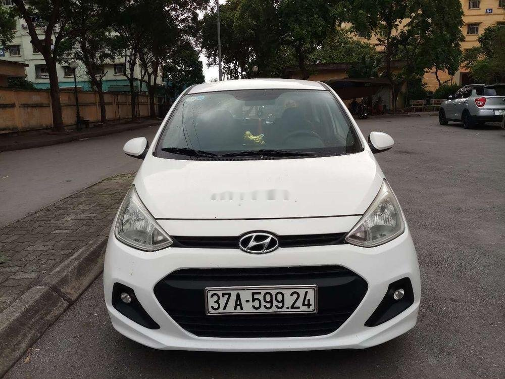 Bán Hyundai Grand i10 đời 2014, màu trắng, nhập khẩu (1)