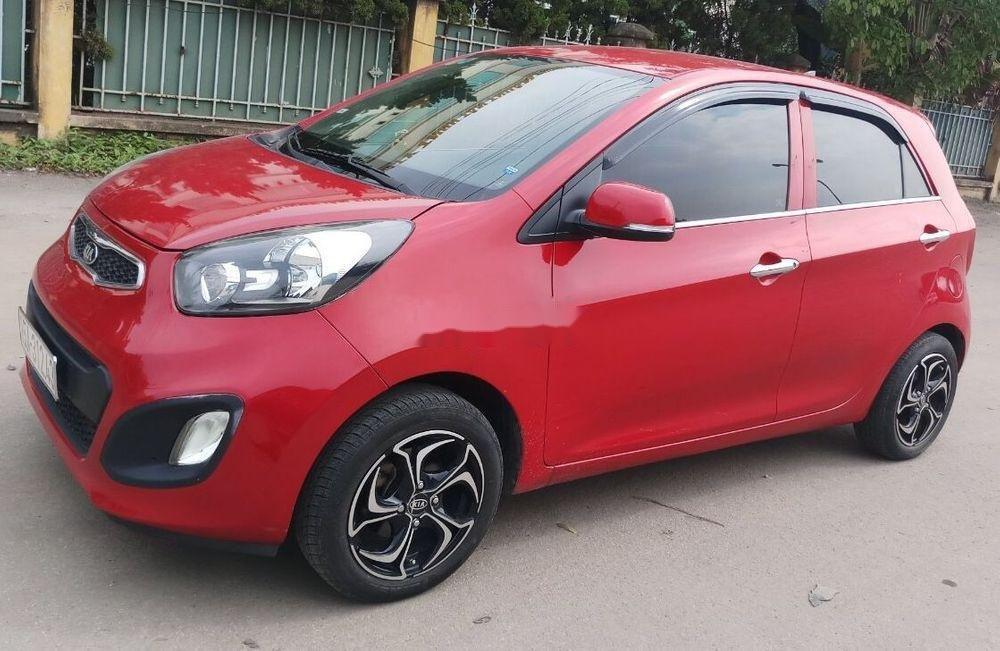 Cần bán gấp Kia Morning sản xuất 2014, màu đỏ như mới, giá tốt, xe nguyên bản (3)