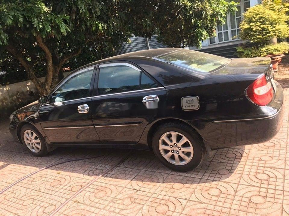 Bán Toyota Camry đời 2003, màu đen số tự động (7)