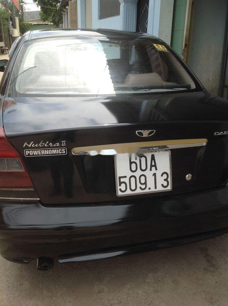 Bán Daewoo Nubira 2003, màu đen, nhập khẩu nguyên chiếc chính chủ, giá tốt (2)