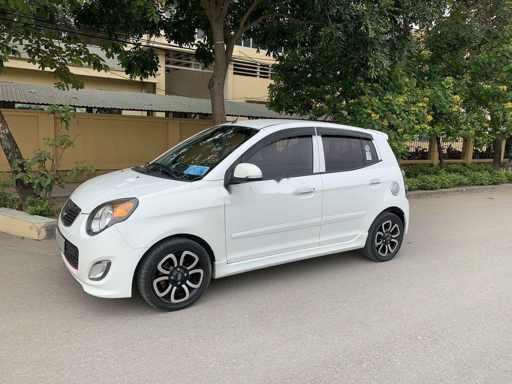 Cần bán lại xe Kia Morning AT đời 2009, màu trắng, nhập khẩu   (2)