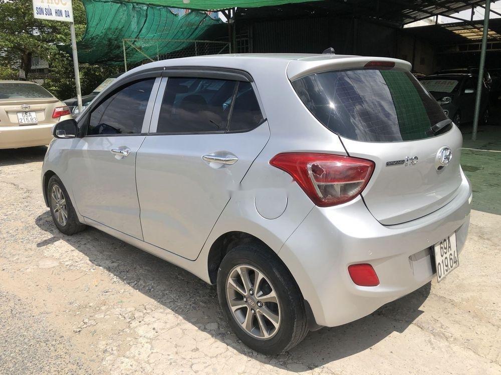 Bán ô tô Hyundai Grand i10 đời 2014, màu bạc, nhập khẩu Hàn Quốc (6)