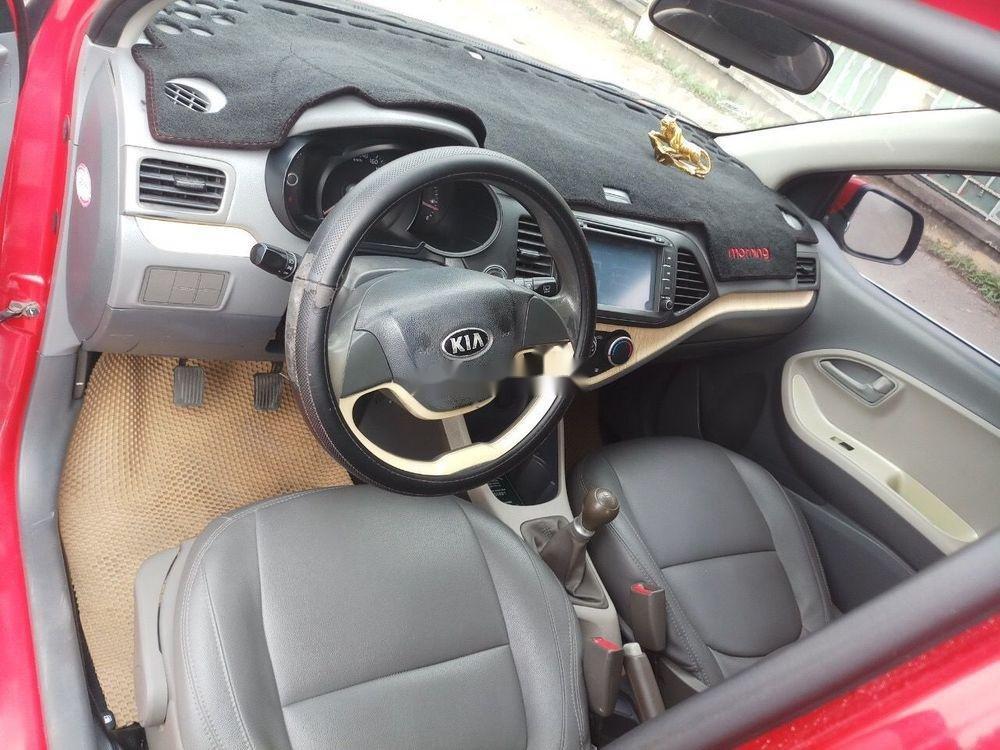 Cần bán gấp Kia Morning sản xuất 2014, màu đỏ như mới, giá tốt, xe nguyên bản (9)