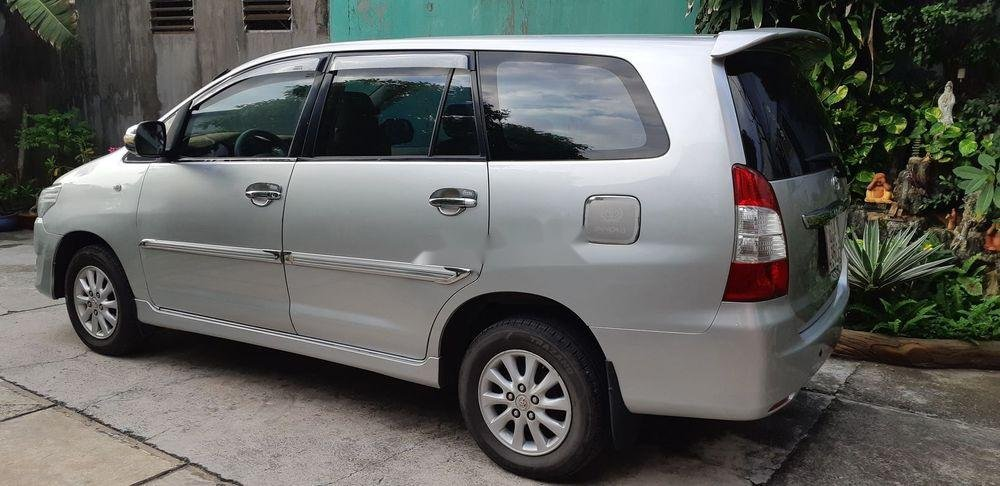 Bán Toyota Innova đời 2013, màu bạc, bstp (1)