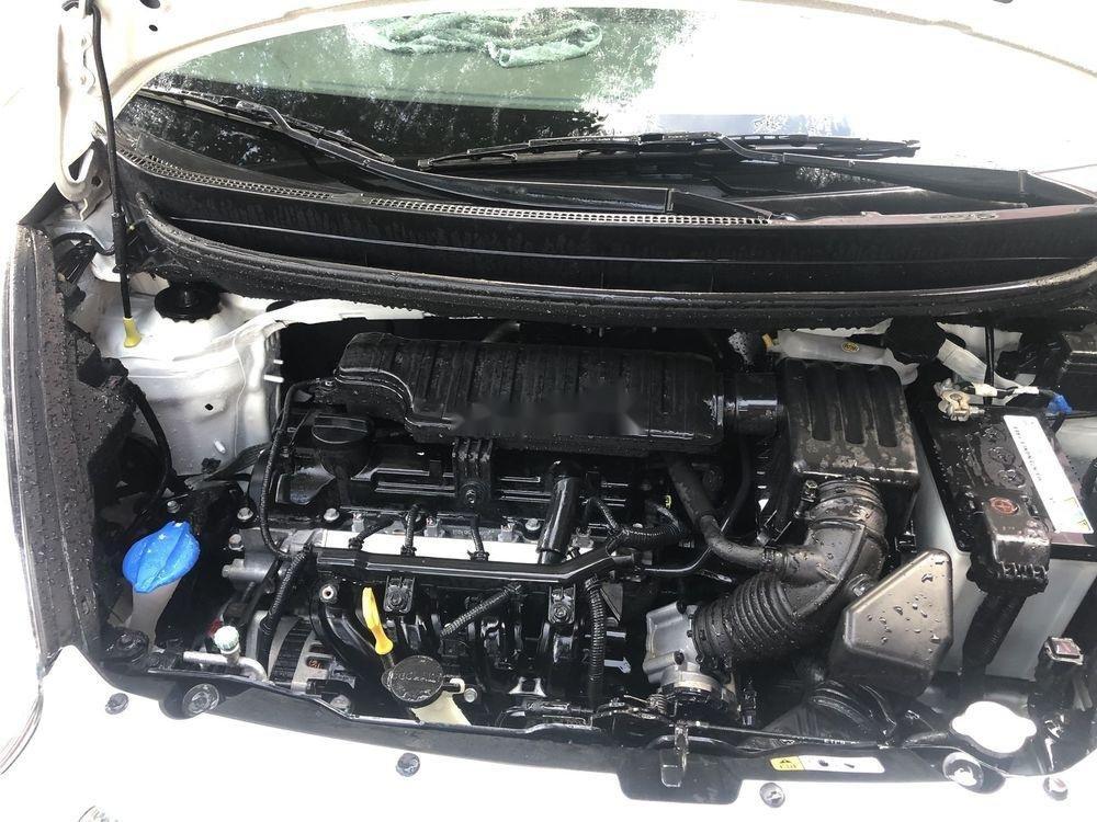 Bán ô tô Kia Morning đời 2016, màu trắng xe gia đình (8)