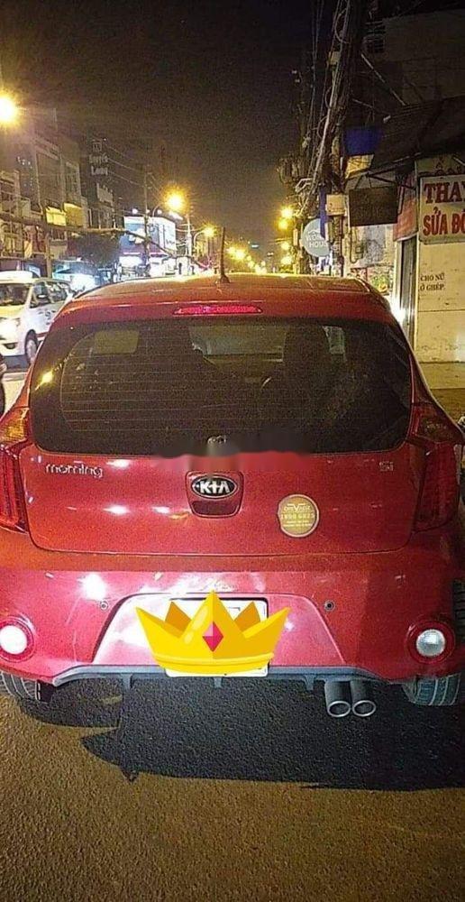 Cần bán lại xe Kia Morning đời 2015, màu đỏ, nhập khẩu chính hãng (1)