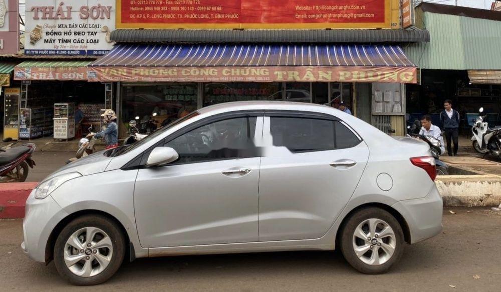 Bán Hyundai Grand i10 1.2 AT đời 2018, màu bạc (3)