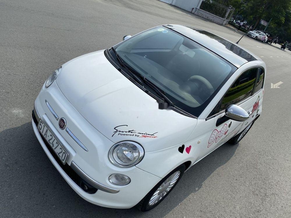 Bán ô tô Fiat 500 1.2 turbo 2010, màu trắng, nhập khẩu số tự động (6)