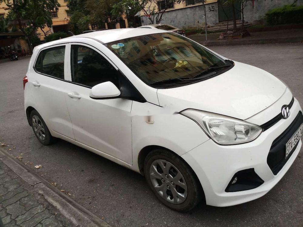 Bán Hyundai Grand i10 đời 2014, màu trắng, nhập khẩu (4)