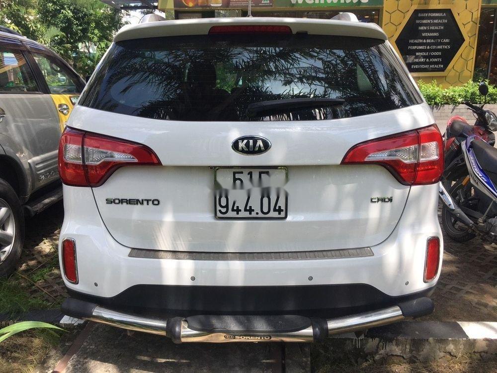 Cần bán Kia Sorento  2.2 bản DATH sản xuất 2016, màu trắng (6)