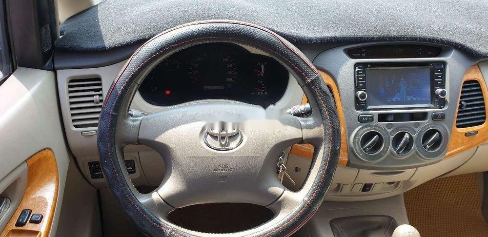 Bán xe Toyota Innova đời 2010, màu bạc chính chủ, giá chỉ 345 triệu, xe nguyên bản (5)