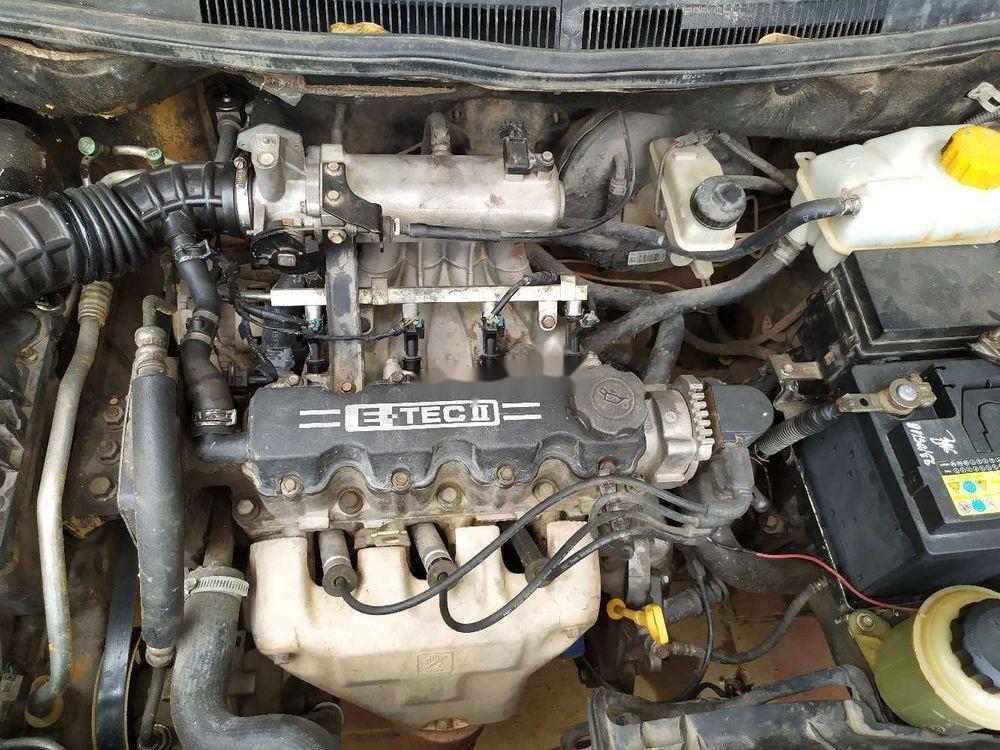 Cần bán lại xe Daewoo Gentra đời 2007, màu đen chính chủ (8)