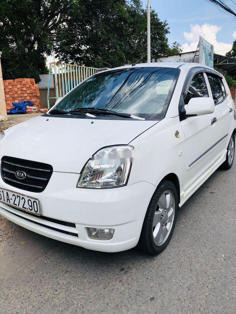 Cần bán gấp Kia Morning đời 2009, màu trắng, nhập khẩu nguyên chiếc xe gia đình, giá tốt (1)