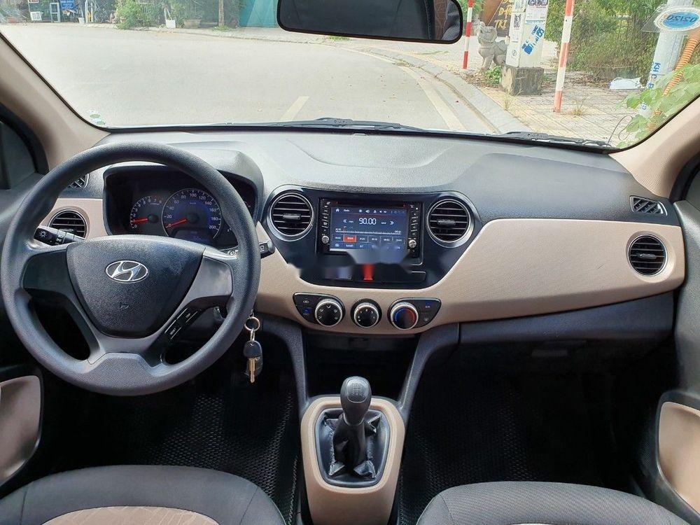 Bán Hyundai Grand i10 2016, màu bạc, nhập khẩu chính chủ giá tốt (6)