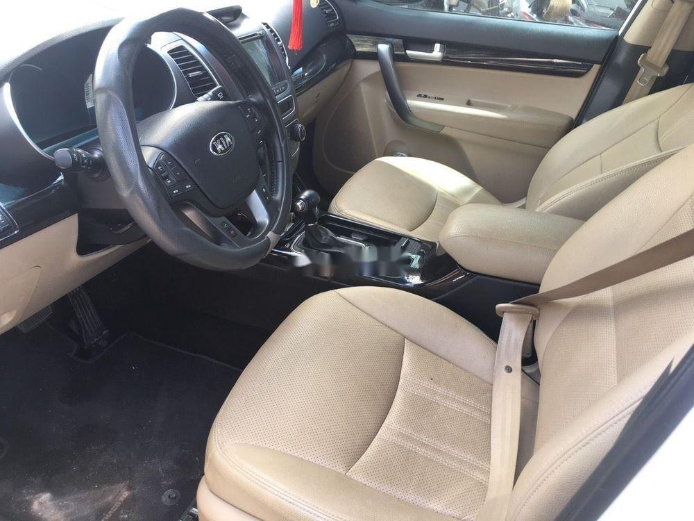 Cần bán Kia Sorento  2.2 bản DATH sản xuất 2016, màu trắng (3)