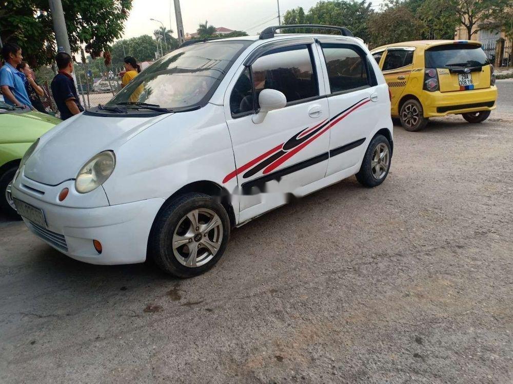 Bán ô tô Daewoo Matiz năm 2003, màu trắng (1)