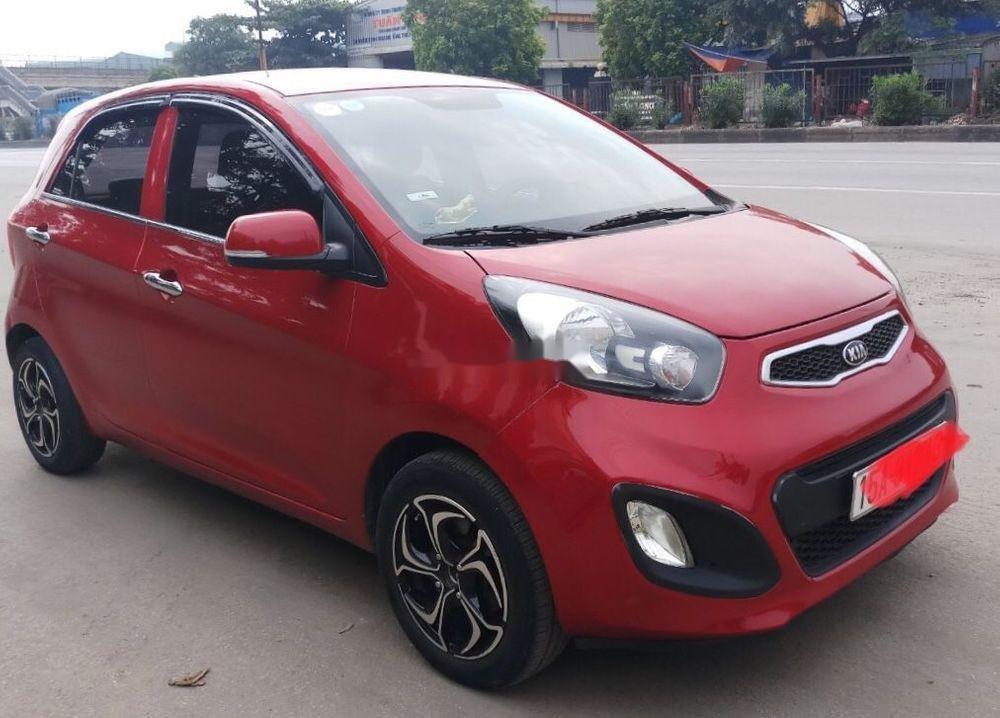 Cần bán gấp Kia Morning sản xuất 2014, màu đỏ như mới, giá tốt, xe nguyên bản (4)