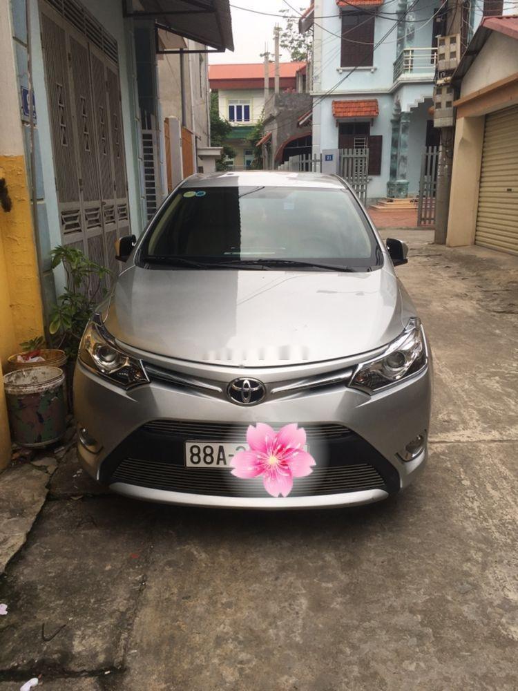 Bán xe Toyota Vios G năm sản xuất 2017, màu bạc, giá tốt (1)