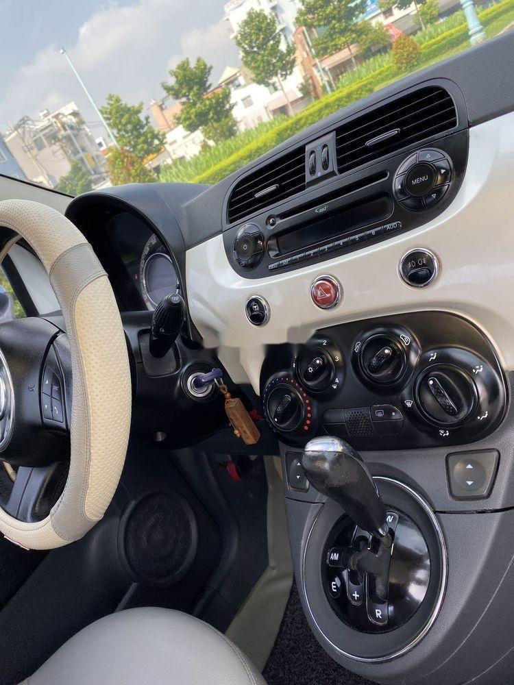 Bán ô tô Fiat 500 1.2 turbo 2010, màu trắng, nhập khẩu số tự động (2)