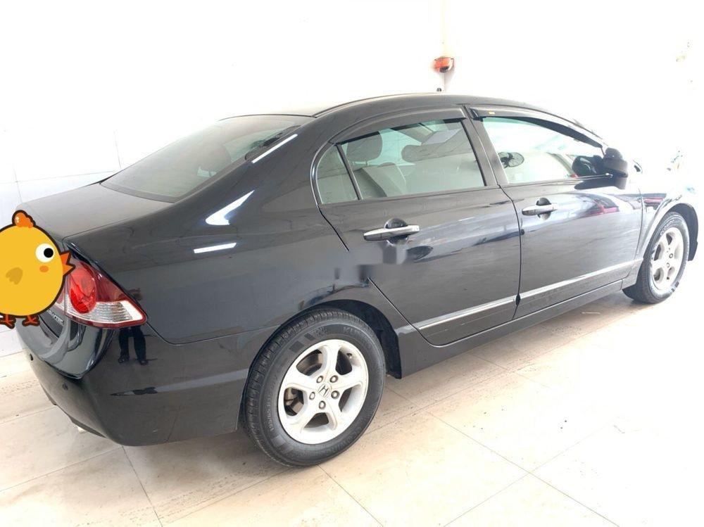 Xe Honda Civic sản xuất 2008, màu đen số tự động (2)