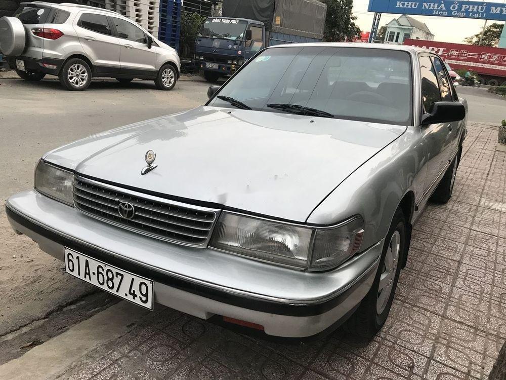 Bán xe cũ Toyota Cressida đời 1996, màu bạc, xe nhập (1)