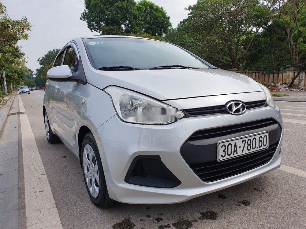 Bán Hyundai Grand i10 2016, màu bạc, nhập khẩu chính chủ giá tốt (5)