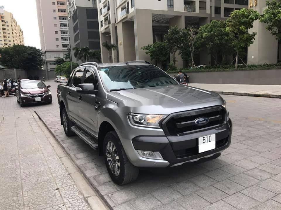 Bán xe Ford Ranger năm 2018, màu xám, nhập khẩu, xe gia đình, 769 triệu (1)