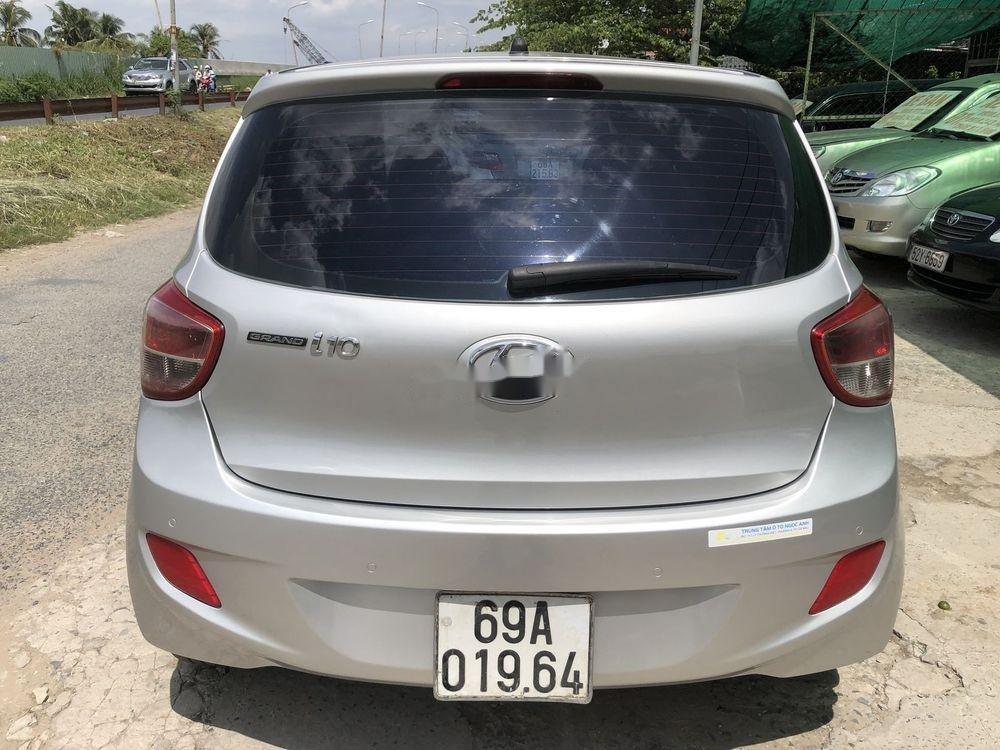 Bán ô tô Hyundai Grand i10 đời 2014, màu bạc, nhập khẩu Hàn Quốc (2)