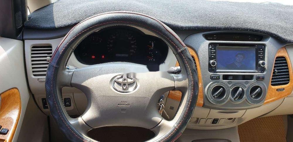 Bán xe Toyota Innova đời 2010, màu bạc chính chủ, giá chỉ 345 triệu, xe nguyên bản (9)