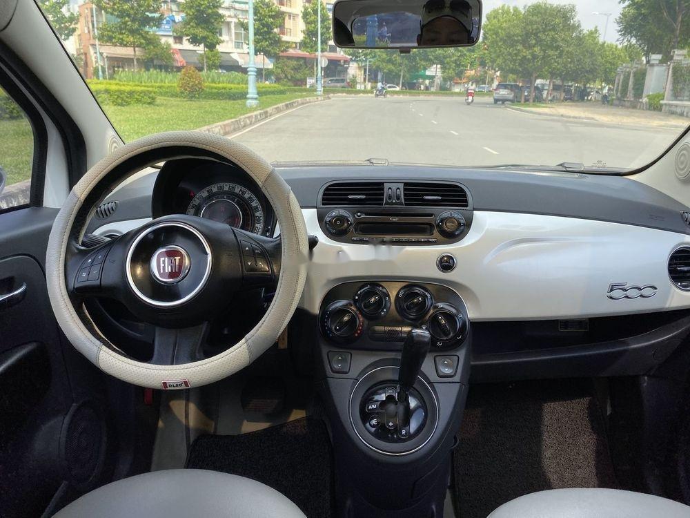 Bán ô tô Fiat 500 1.2 turbo 2010, màu trắng, nhập khẩu số tự động (8)