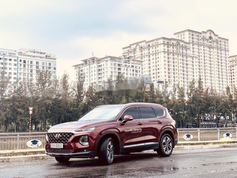 Cần bán Hyundai Santa Fe sản xuất 2019, hỗ trợ tốt (2)