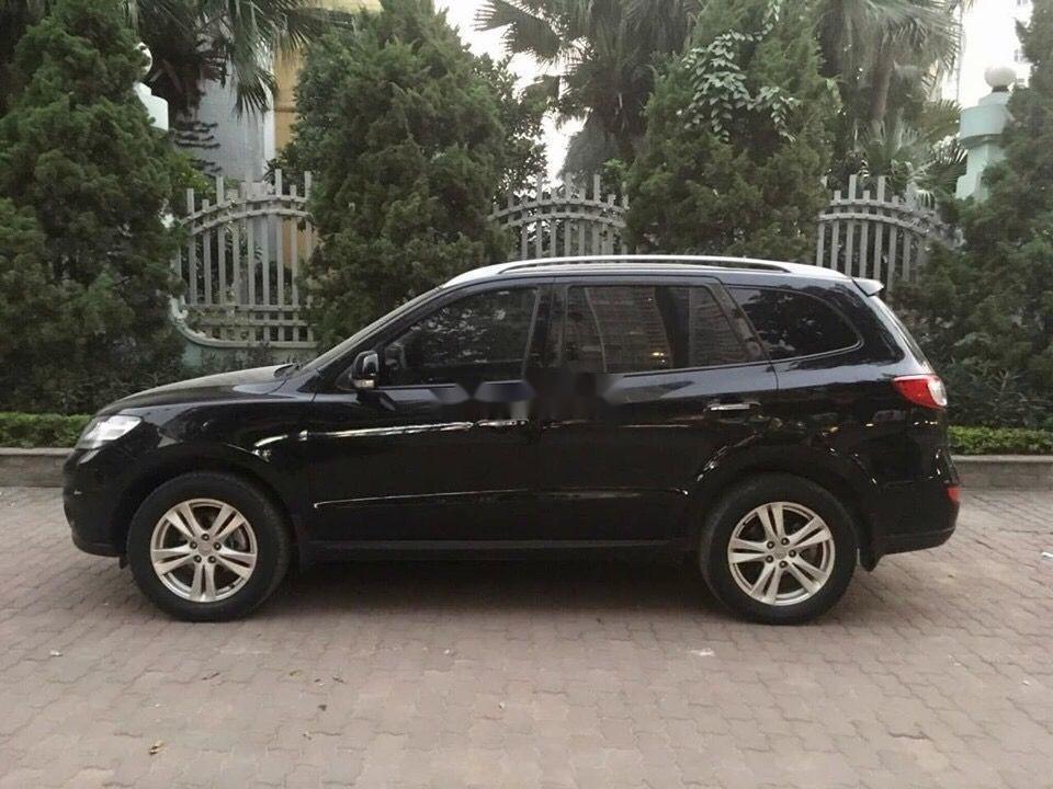Bán ô tô Hyundai Santa Fe đời 2012, màu đen, nhập khẩu nguyên chiếc chính hãng (3)