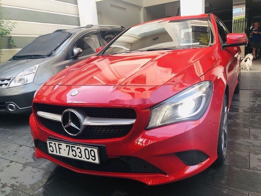 Cần bán Mercedes năm sản xuất 2016, màu đỏ chính chủ, giá tốt, xe nguyên bản (11)