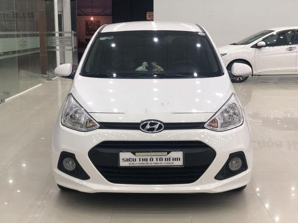 Bán Hyundai Grand i10 2016, màu trắng, xe nhập   (2)