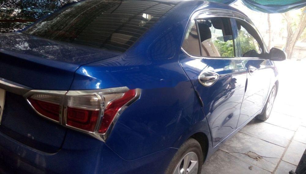Bán Hyundai Grand i10 năm sản xuất 2018, màu xanh lam, giá tốt (1)