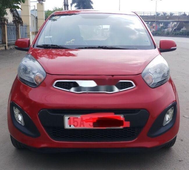 Cần bán gấp Kia Morning sản xuất 2014, màu đỏ như mới, giá tốt, xe nguyên bản (1)