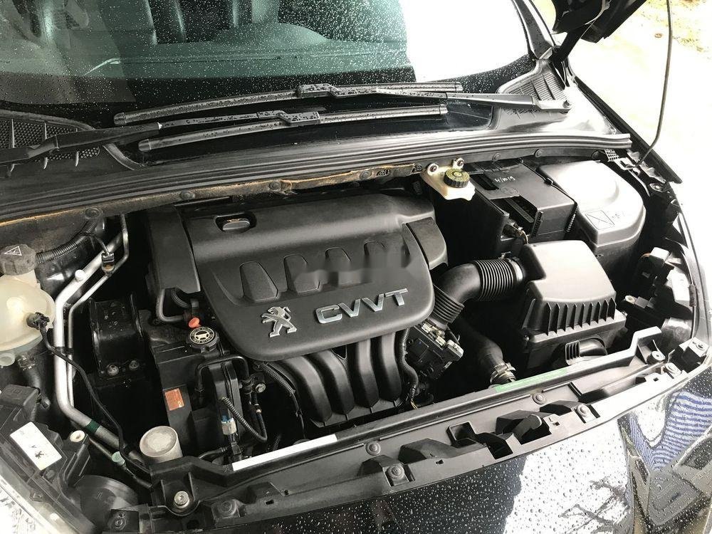 Bán xe Peugeot 408 2014, màu đen xe gia đình, giá 460tr (12)