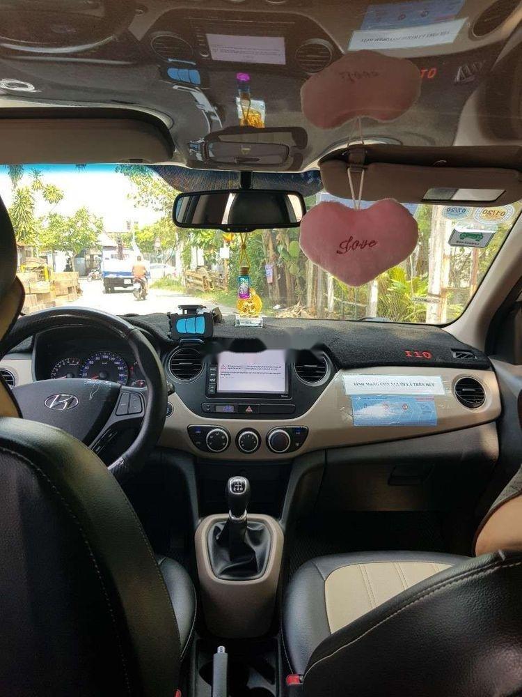 Bán xe Hyundai Grand i10 năm 2017, màu nâu, giá cạnh tranh (2)