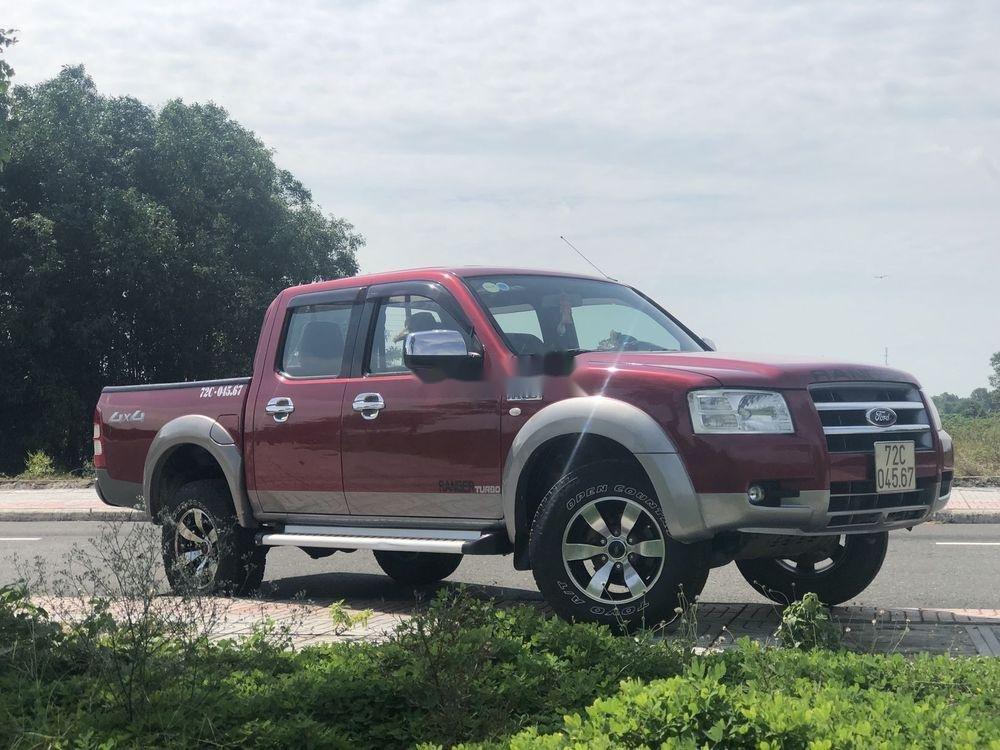 Bán Ford Ranger năm sản xuất 2007, màu đỏ, xe nhập, giá tốt (5)