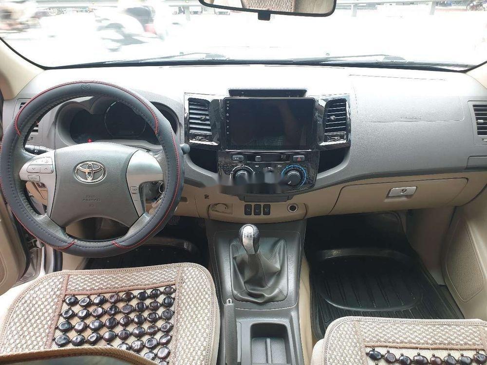 Bán xe Toyota Fortuner GMT sản xuất 2013, màu bạc xe gia đình (7)